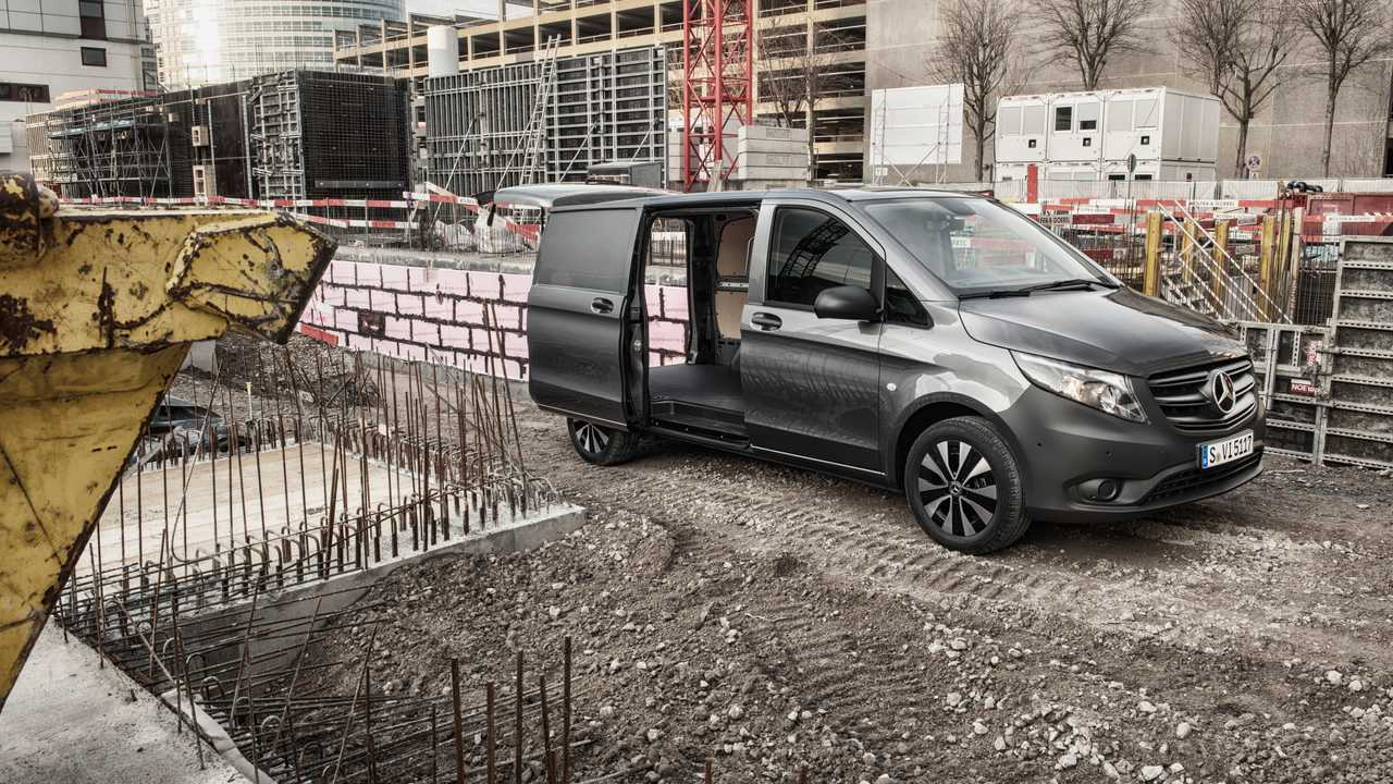 2020 Mercedes-Benz Vito and eVito