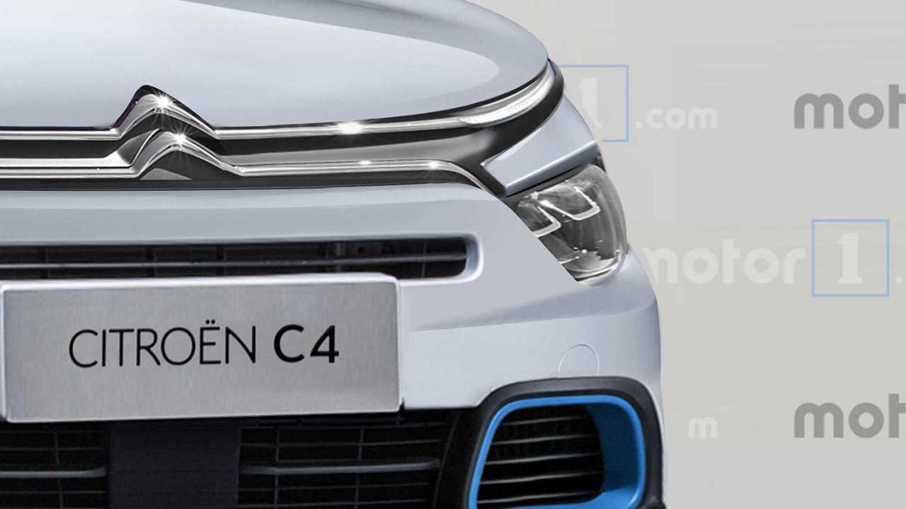 Rendu Citroën C4