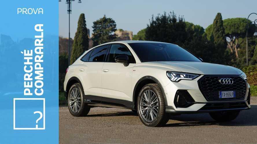 Audi Q3 Sportback, perché comprarla e perché no
