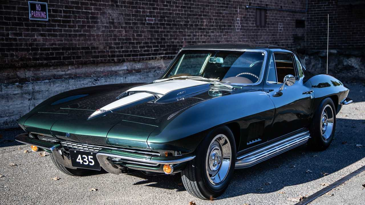 Invest In An Award-Winning 1967 Chevy Corvette