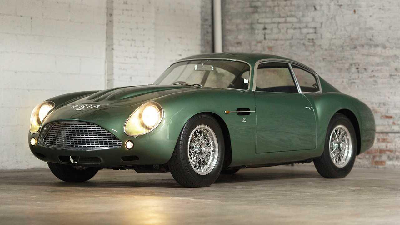 Aston Martin DB4GT Zagato (1962) - 12,9 миллиона евро