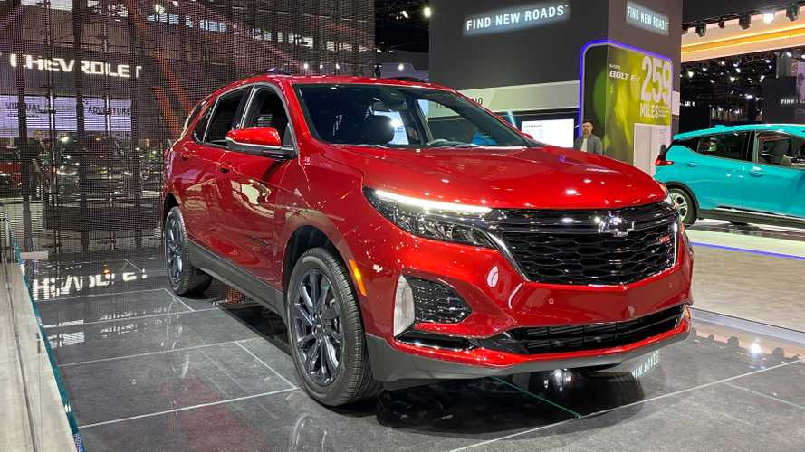 2021 Chevy Equinox Revealed With Updated Styling And RS Trim