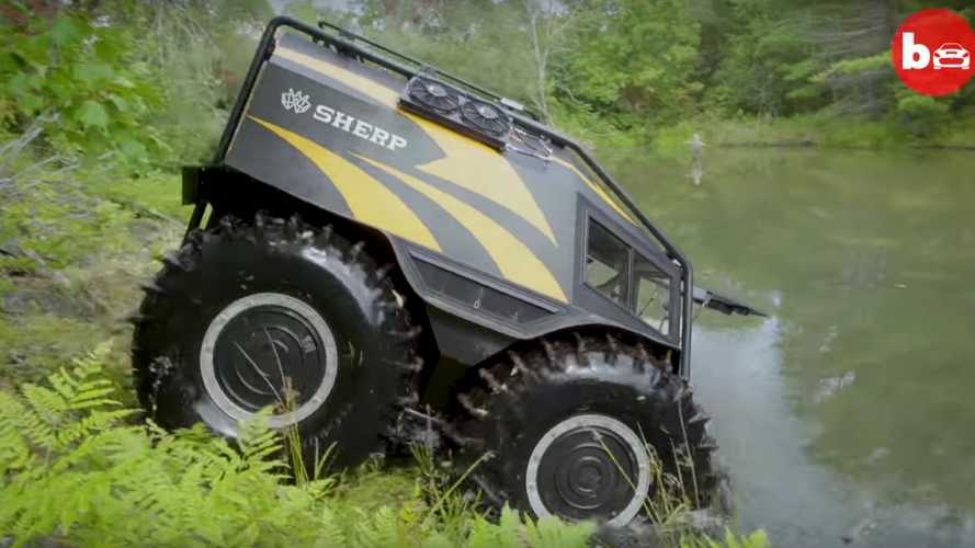 Videó: Ha van autó, amivel túl lehet vészelni a világvégét, a Sherp az