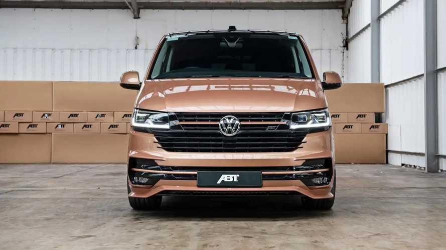 Более быстрый и аэродинамичный VW Transporter от ABT