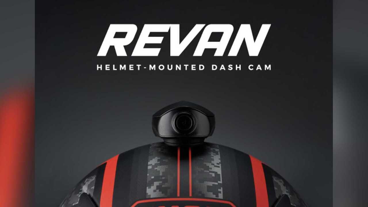 Revan Helmet-Mounted Dashcam