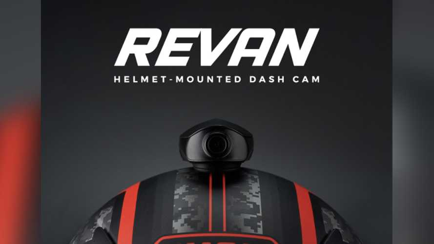 New Revan Helmet Camera Acts As Blind Spot Monitor