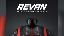 revan motorcycle helmet camera hud safety
