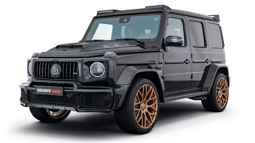 Brabus Goes Black And Gold With Mercedes-AMG G63