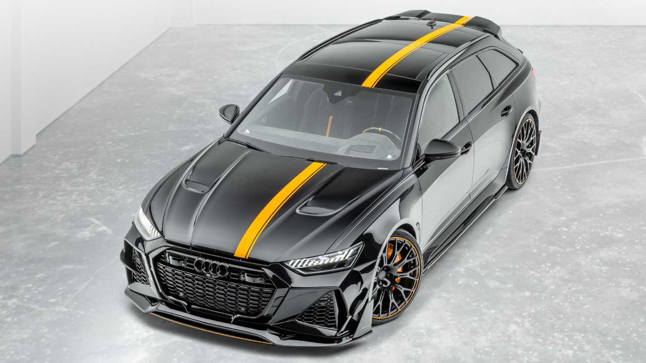 2021 Audi RS6 Avant By Mansory Is An Extravagant Super Wagon