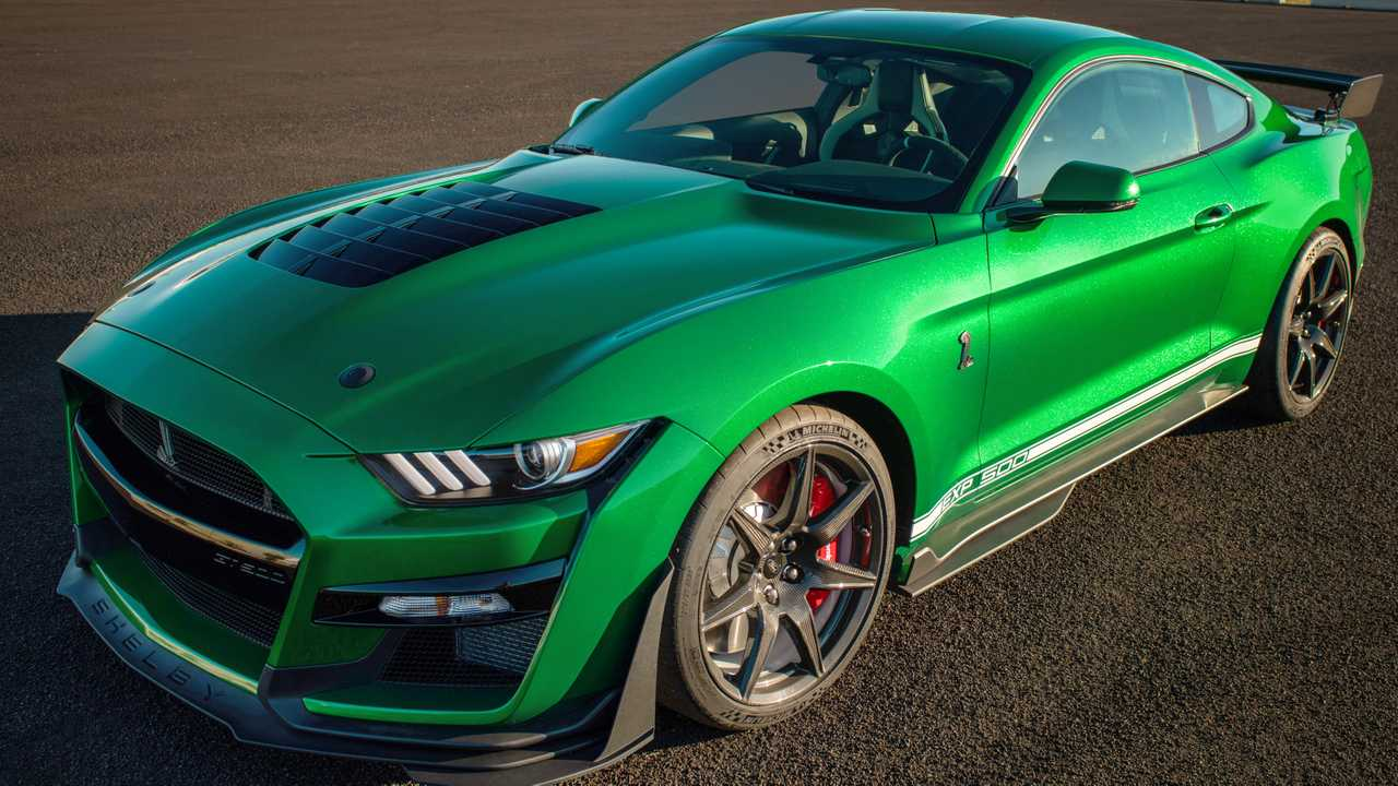 2020 Shelby Gt500 Vin 001 Shines In Extended Photo Gallery