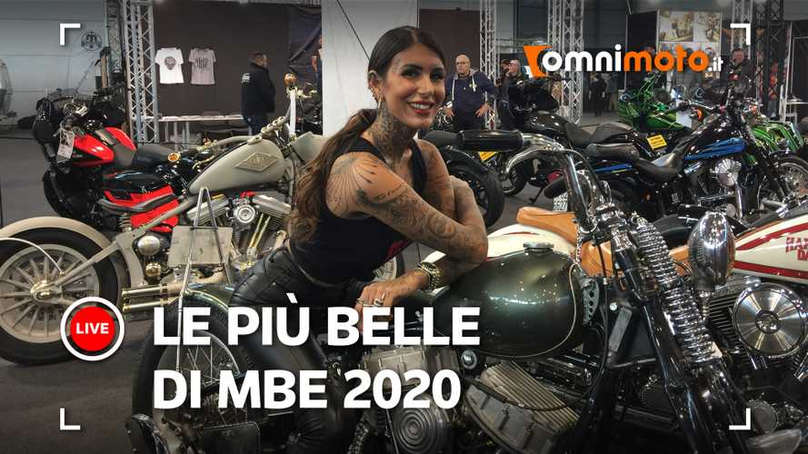Le moto special più belle di Motor Bike Expo 2020 [VIDEO]