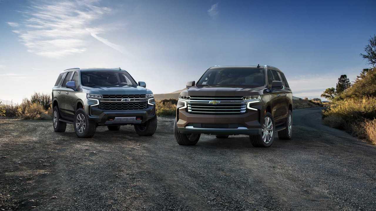 Российская премьера Chevrolet Tahoe