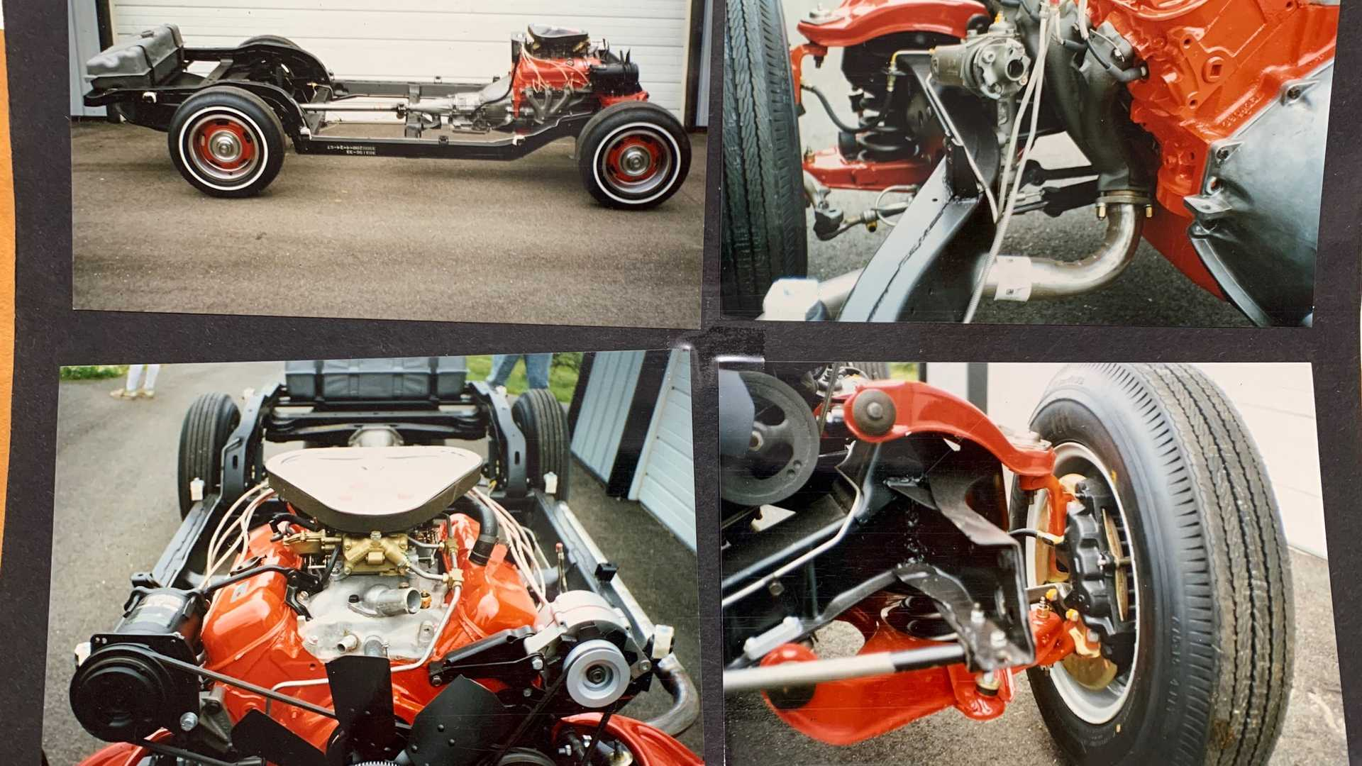 """[""""Bill Mitchell's 1967 COPO Corvette Up For Auction""""]"""