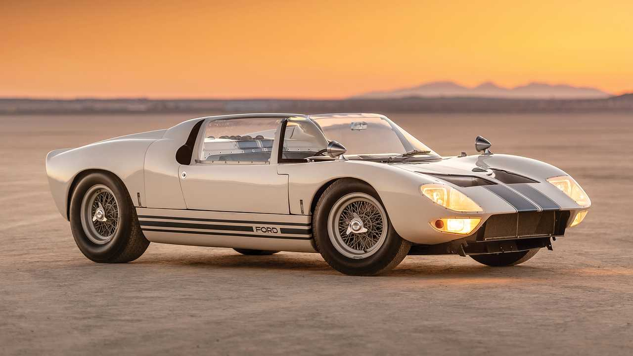 Ford GT40 Roadster Prototype (1965) - 7,0 millions d'euros