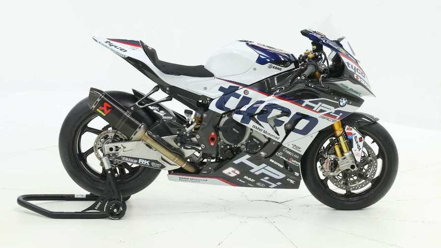 How Much Do You Need This Brand New BMW HP4 Race Right Now?