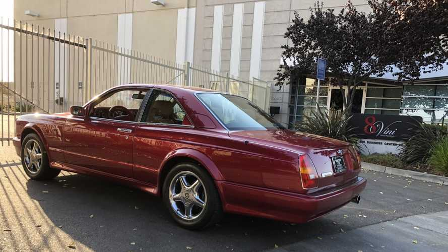 Bid On A 1998 Bentley Continental T Coupe Once Owned By Will Smith
