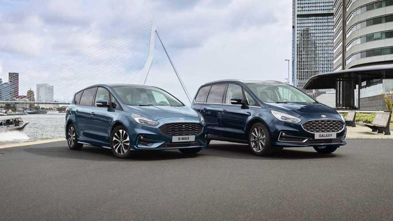 Ford S-Max y Galaxy Hybrid 2020