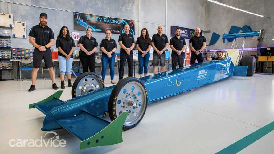 This EV Dragster Has An Incredible 4,000 kW Or 5,364 Horsepower