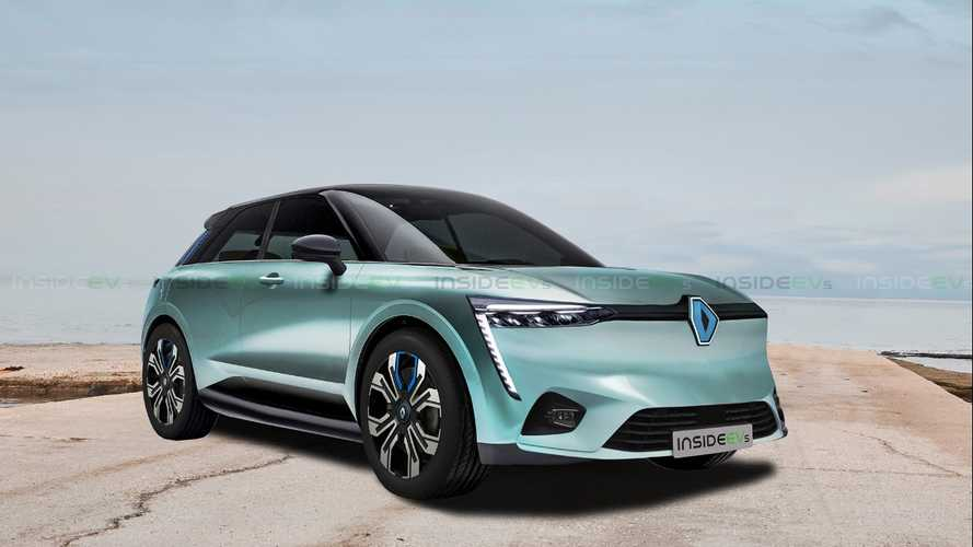 Renault Electric Crossover Rendering v2