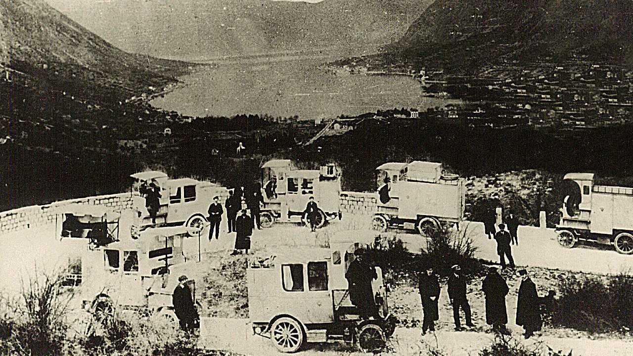 1908 Laurin & Klement Type E Cerna Hora-Montenegro