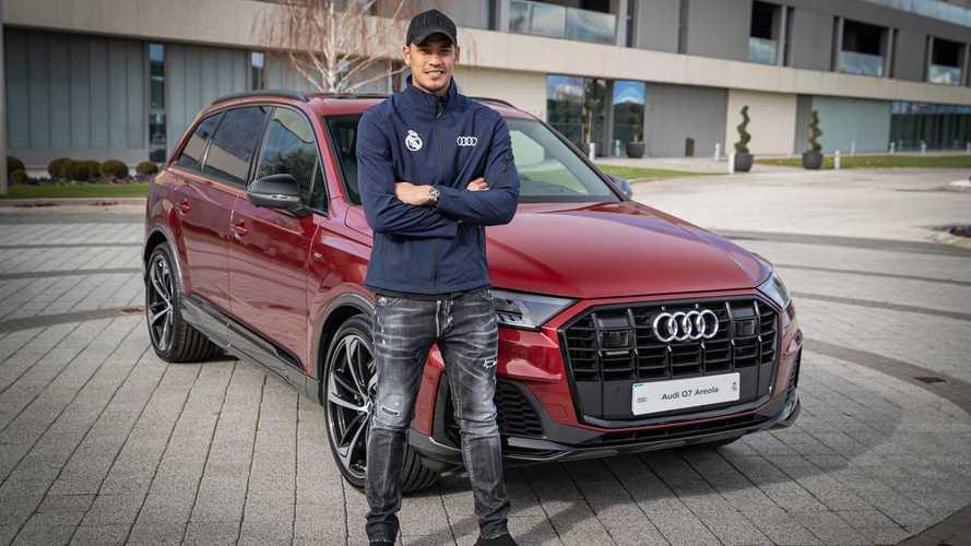 Les Audi des joueurs du Real Madrid
