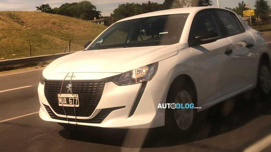 Novo Peugeot 208 básico aparece em testes na Argentina
