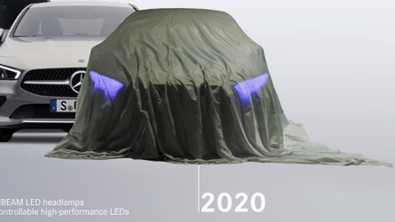 2021 Mercedes EQS production version possibly teased