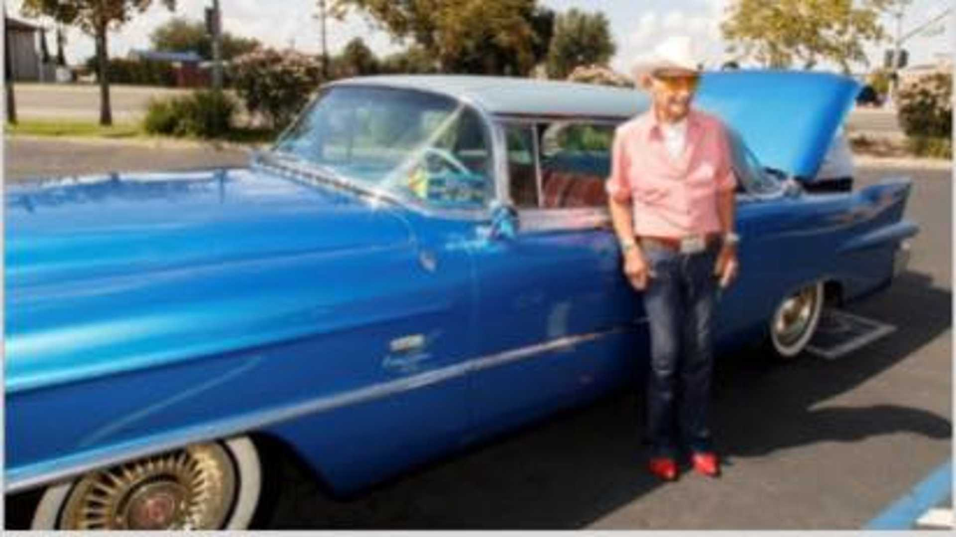 "[""Stolen 1956 Cadillac Returned To 106-Year-Old WWII Vet""]"