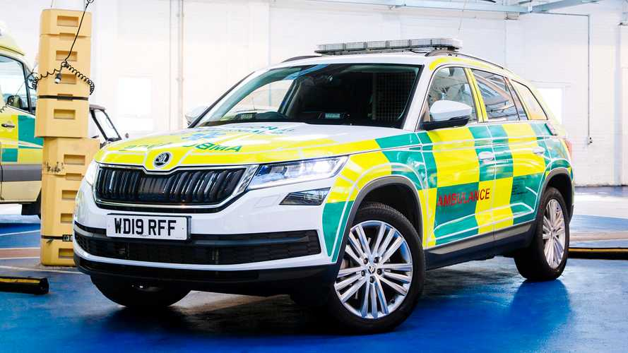 Skoda Kodiaq makes the switch from family SUV to specialist ambulance