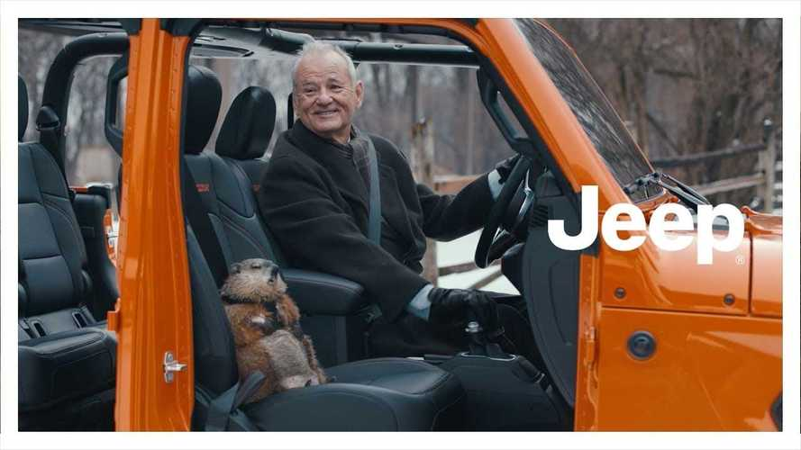 Jeep Super Bowl Commercial Stars Gladiator, Bill Murray, And A Groundhog