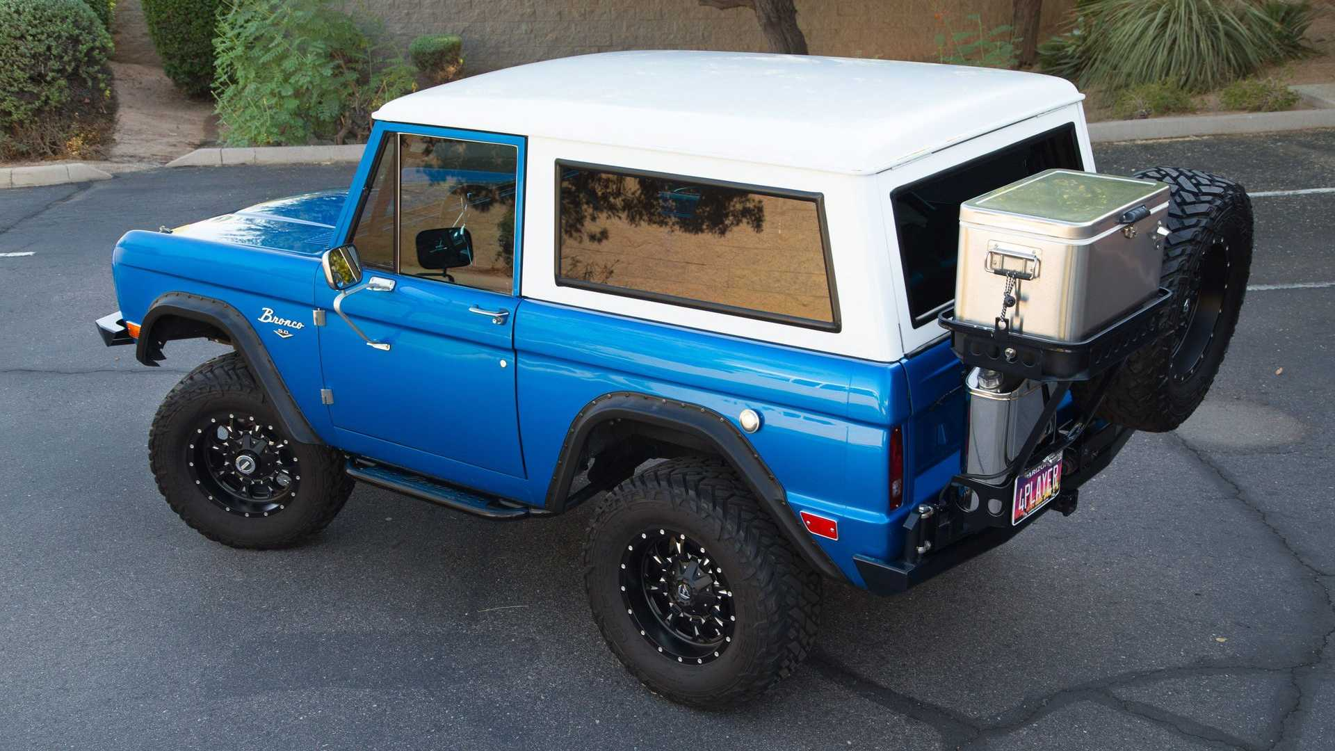 "[""Ride High In This 1968 Ford Bronco Restomod""]"