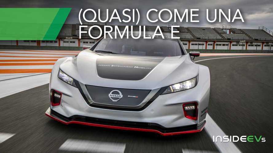 Nissan Leaf Nismo RC 02, come migliorare l'auto elettrica