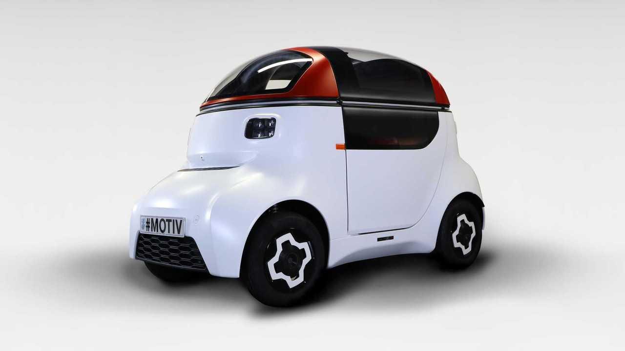 1MOTIVE autonomous vehicle platform