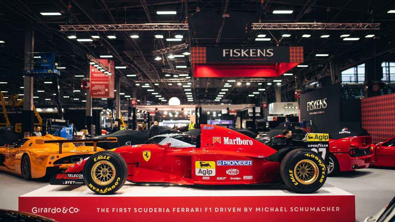 Michael Schumacher-Driven Ferrari F1 Racecar For Sale