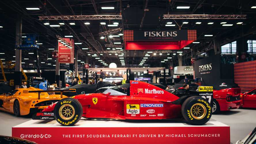 Michael Schumacher-Driven Ferrari F1 Racecar For Sale