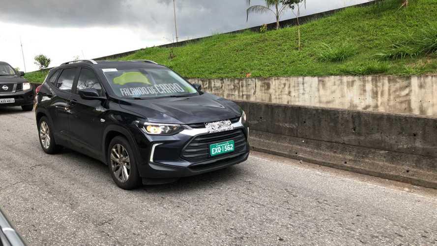 Flagra: Este é o novo Chevrolet Tracker LTZ, versão intermediária do SUV