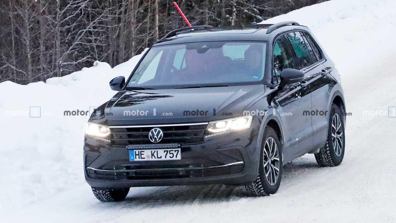 Обновленный VW Tiguan: шпионские фото