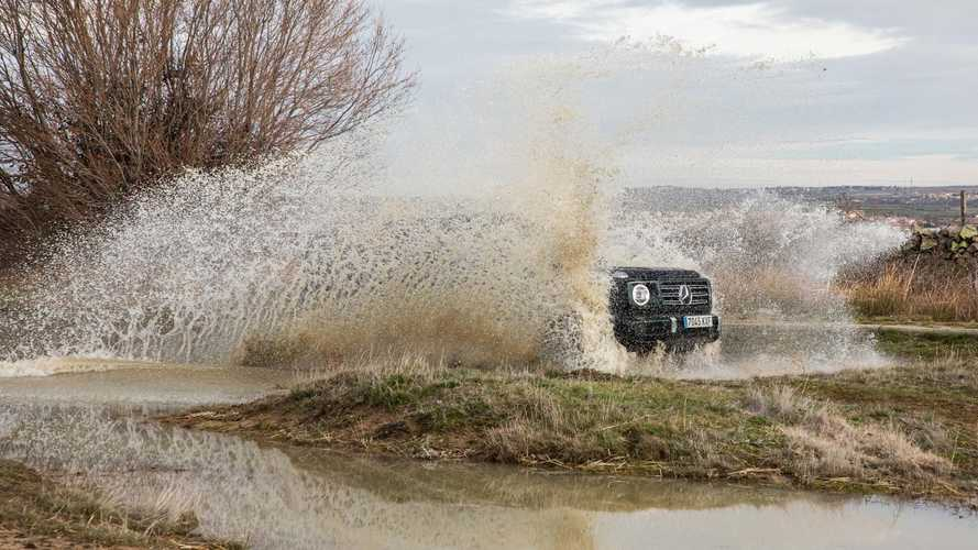 Mercedes-Benz G 350 d 2020, prueba del Panzer germano
