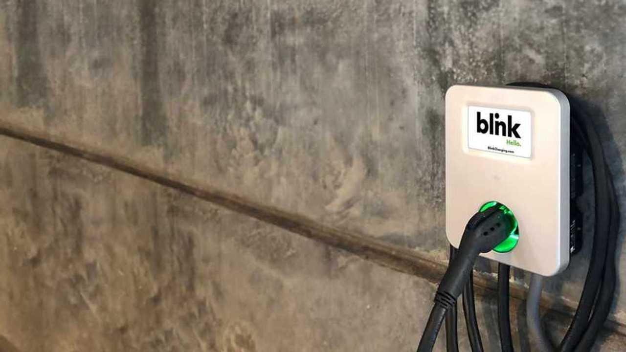 Blink charging terminal