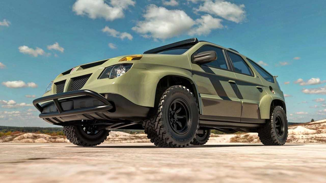 Pontiac Aztek Off-Road Rendering by Abimelec Design