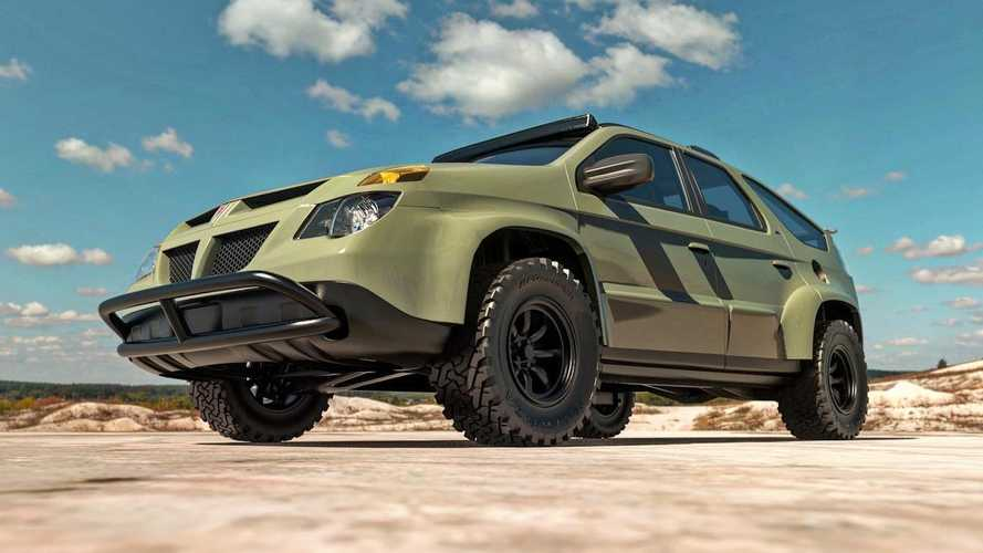 Someone Rendered A Pontiac Aztek Off-Roader And We're Digging It