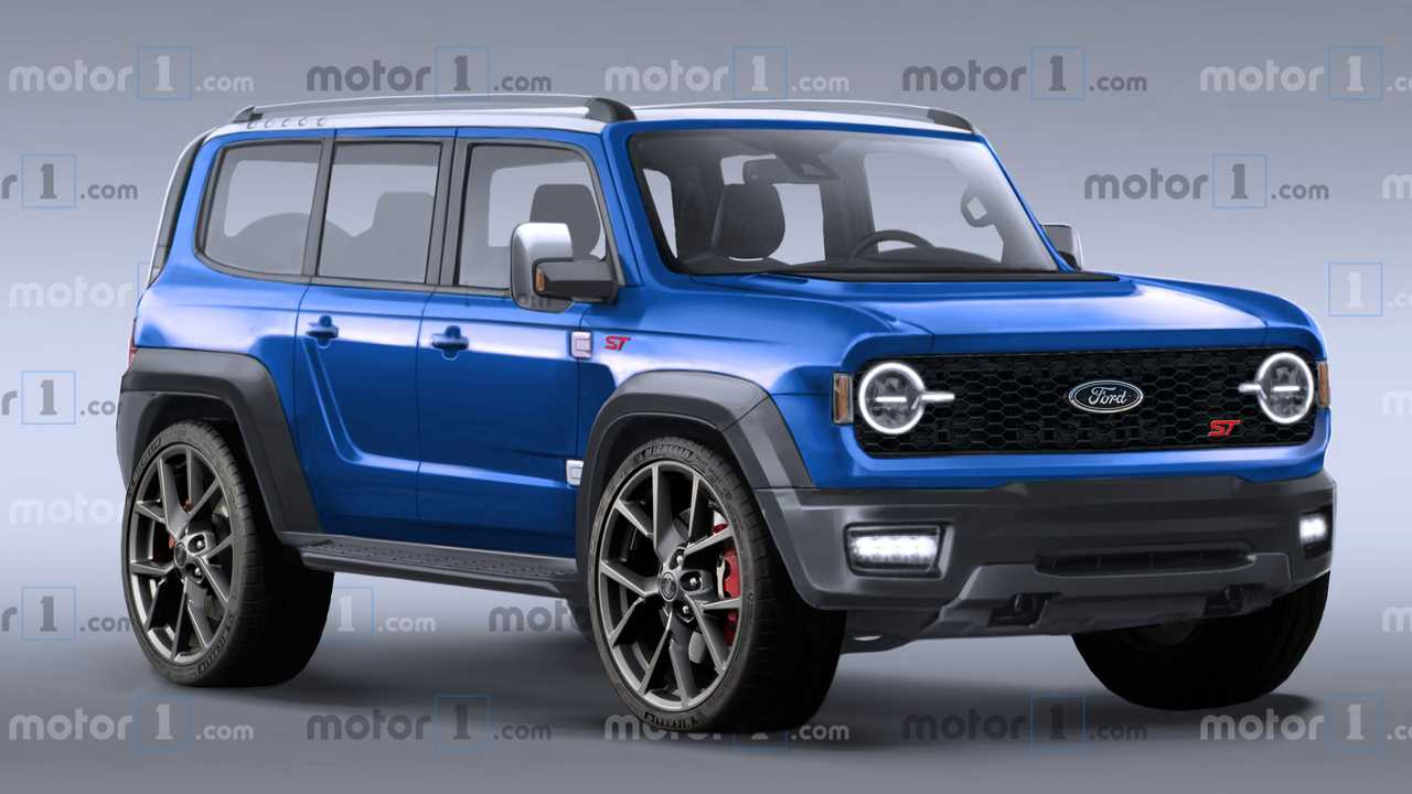 Ford Bronco ST Rendering Imagines Some Unlikely Awesomeness - Motor1