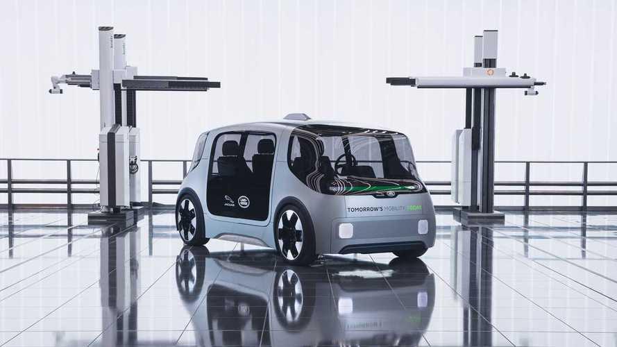 Project Vector, il trasporto condiviso secondo Jaguar-Land Rover