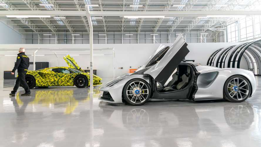 Lotus Opens New Assembly Hall For Evija Hypercar