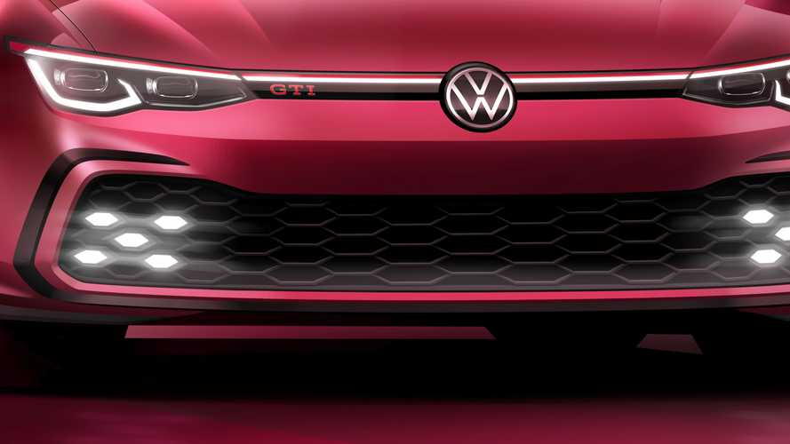 New VW Golf GTI reveals full face before upcoming Geneva debut