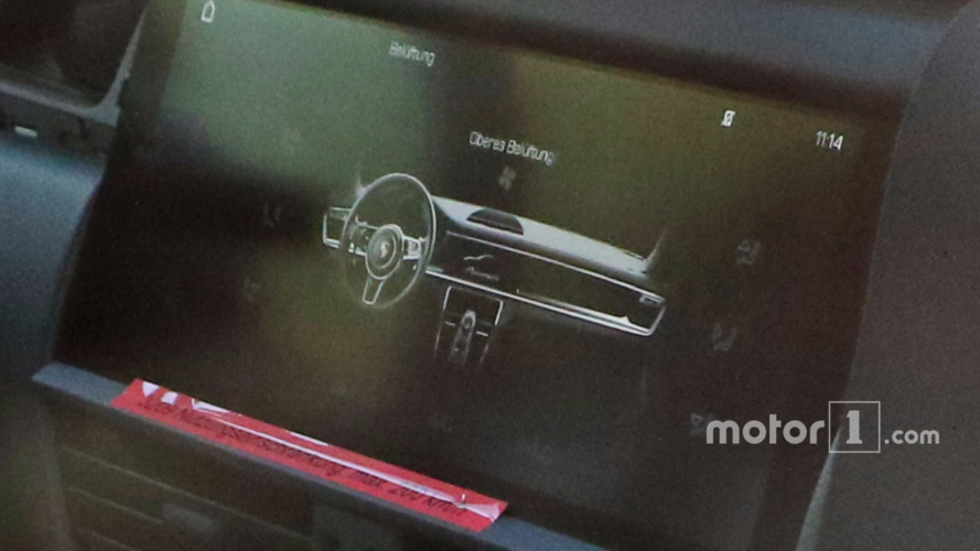 2018 Porsche Cayenne dash design revealed in latest spy shots?