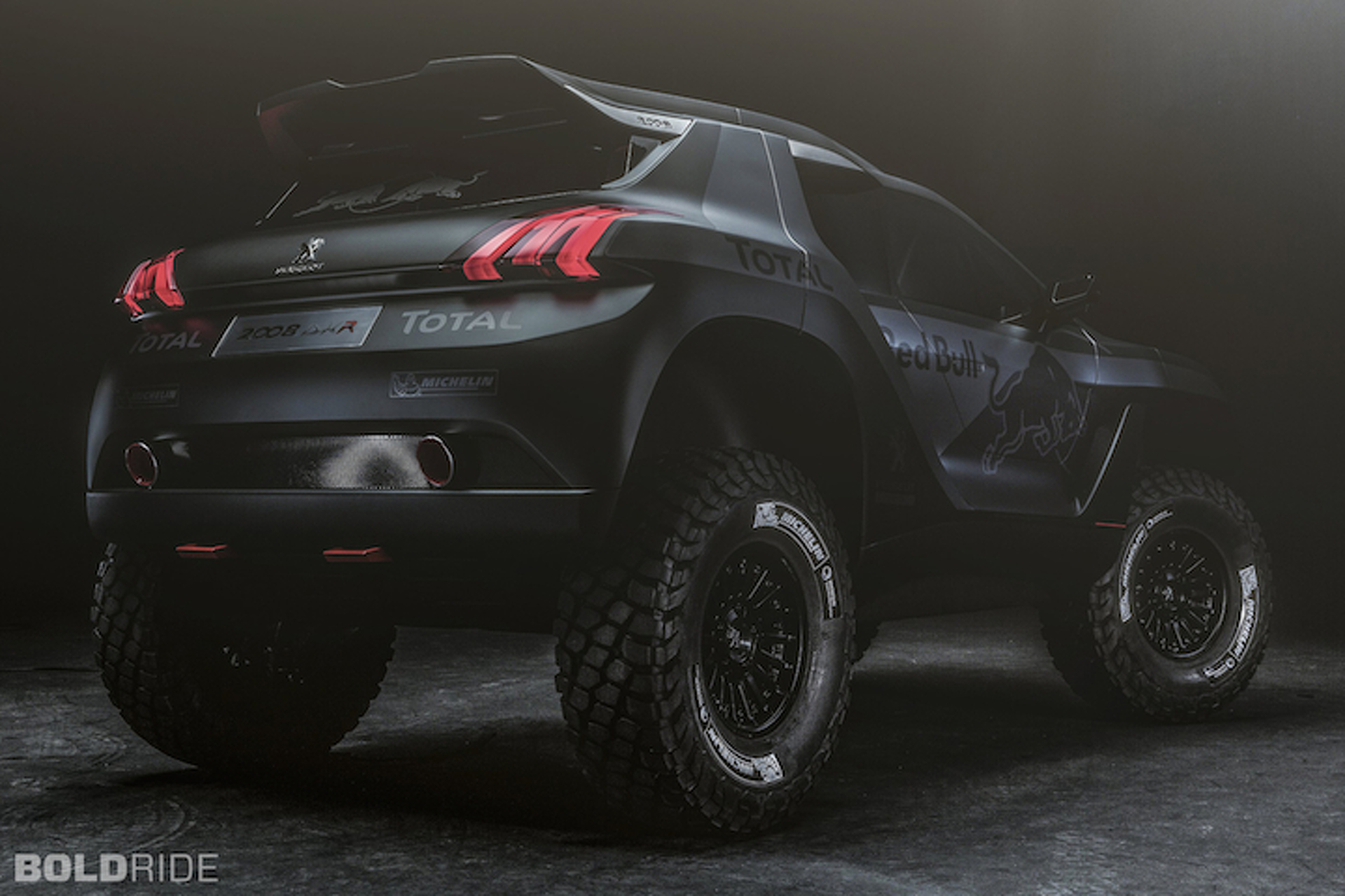 Peugeot Taking Dakar Head On With Gnarly 2008 DKR Concept