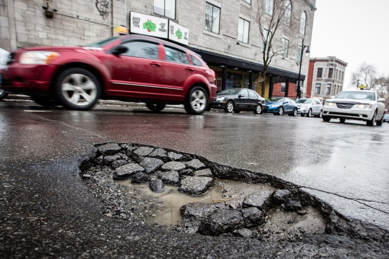 Carnegie Mellon Professor Combating Potholes With Technology