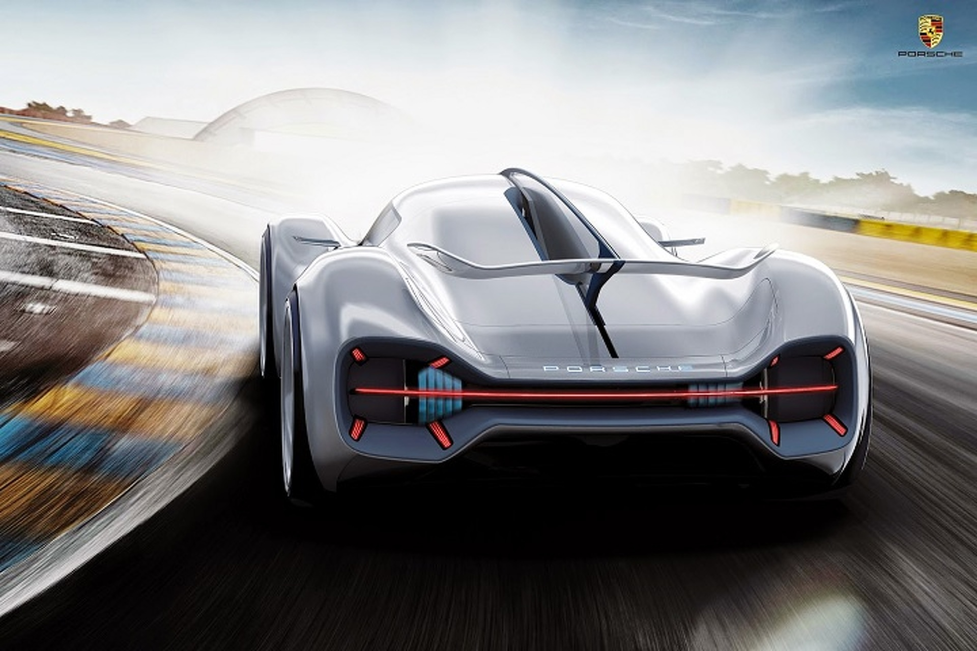 Porsche LeMans Prototype Gets a Gorgeous Rendering