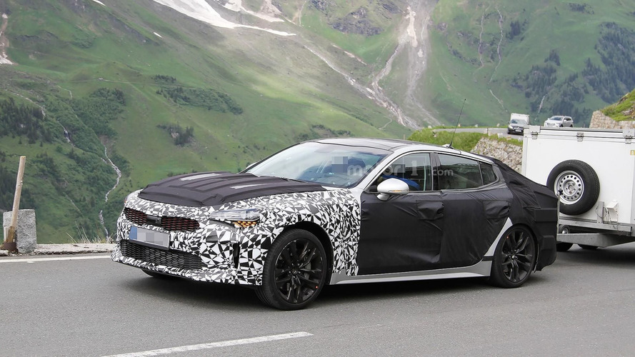 Kia Stinger shows some skin ahead 2017 launch